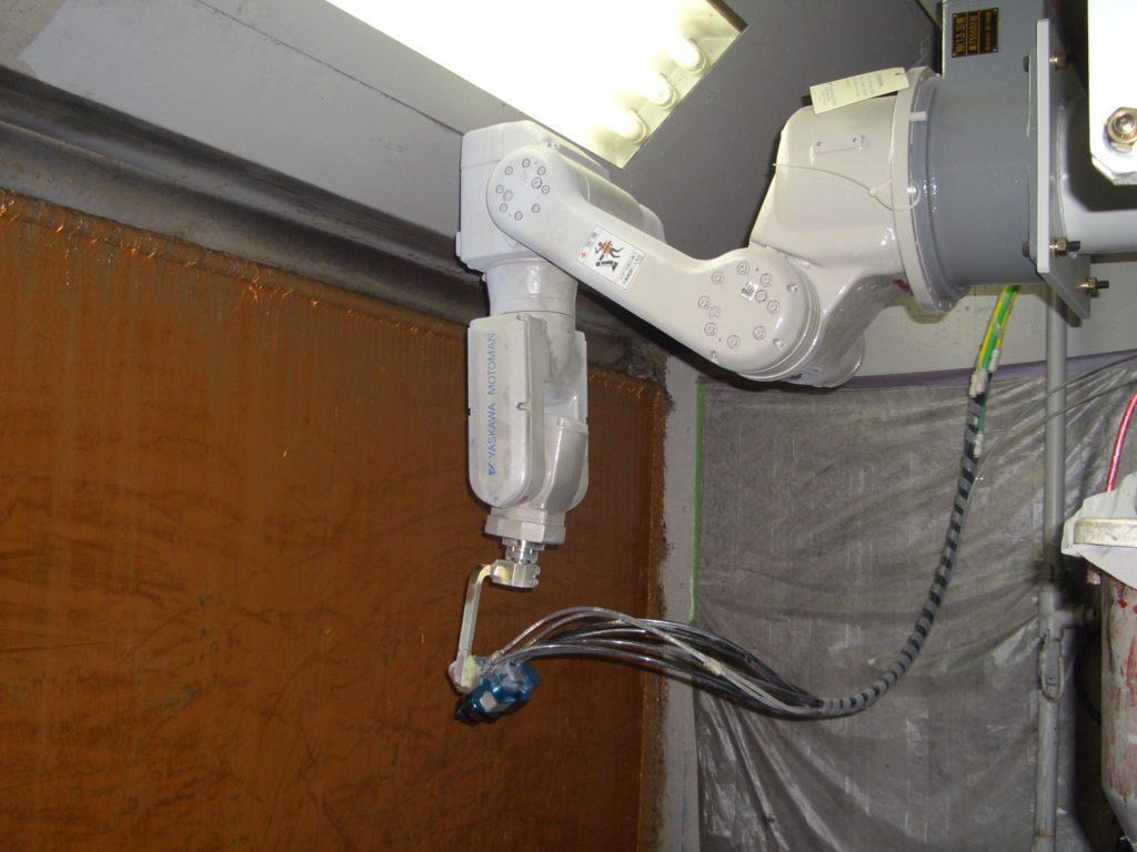 塗装ロボット2号機
